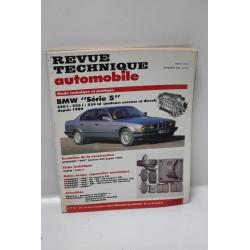Revue technique automobile pour BMW série 5 520i 525i 524td de novembre 1990
