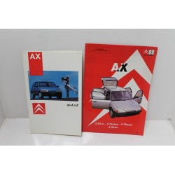 La Citroën AX d A à Z et force de vente Citroën AX  Vintage