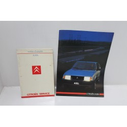 Notice d'emploi Citroën Axel Vintage Garage