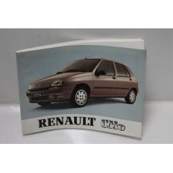 Manuel de pour Renault Clio Vintage Garage