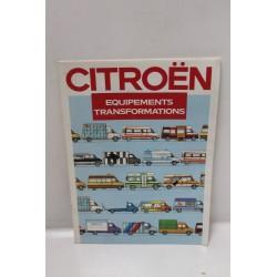 Equipements et transformation de la gamme utilitaire Citroën