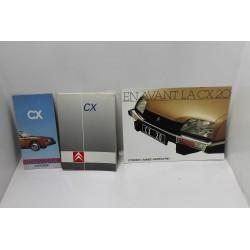 Gamme Citroën CX présentation modèle 1983  Vintage Garage