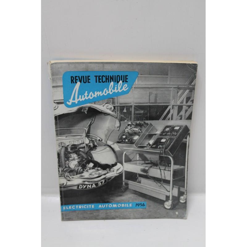 Revue technique automobile lectricit 1956 vintage garage for Garage electricite auto lyon