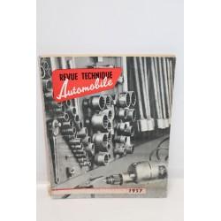 Revue technique automobile équipement du réparateur 1957