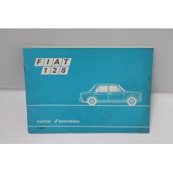 Notice d'entretien Fiat 128