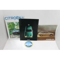 Manuel / brochure présentation de la Citroën GS GSA  Vintage