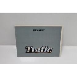 Manuel d'utilisation et d'entretien Renault Trafic