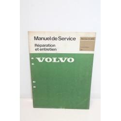 Manuel de service réparation et entretien pour Volvo 264