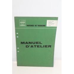 Manuel d'atelier pour Volvo : arbre de transmission pour volvo P120 p1800