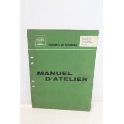 Manuel d'atelier pour Volvo : système de chauffage – climatisation pour Volvo 140 et 164