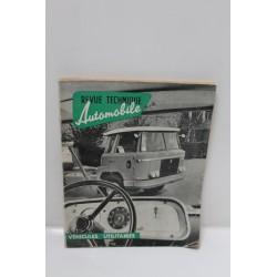 Revue technique automobile véhicule utilitaire Vintage Garage
