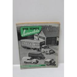 Revue technique automobile véhicule utilitaire 1956