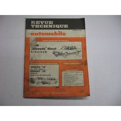 Revue technique pour FORD granada diesel Vintage Garage