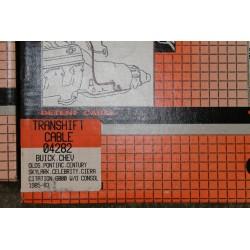 Câble de boite THM125C  pour Buick pour Chevrolet pour Oldsmobile pour Pontiac  de 1983 à 1985