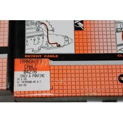 Câble de boite de vitesse pour Chevrolet pour Pontiac V6 et V8 de 1984 à 1989