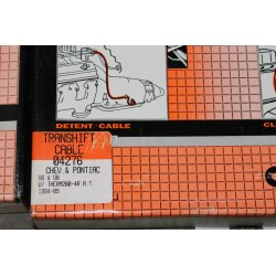 Câble de boite de vitesse pour Chevrolet pour Pontiac V6 et V8