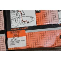 Câble de boite de vitesse pour GM Riviera Cimarron Cavalier
