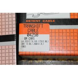 Câble de boite de vitesse pour GM 2,5l 151 2,8l 173 3,0l 181 4,3l 260 de 1983