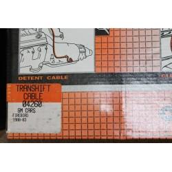 Câble de boite de vitesse GM Firebird de 1983 à 1988