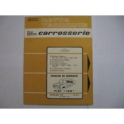 Revue technique carrosserie pour FIAT 125 Vintage Garage