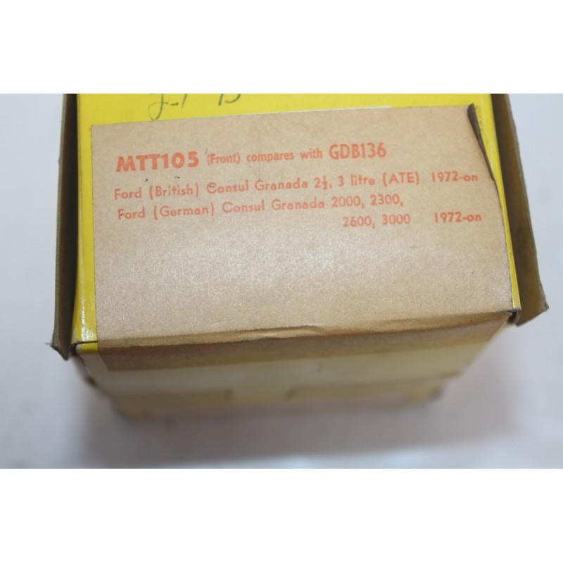 plaquette de frein av ford granada montage ate apr s 1972 vintage garage. Black Bedroom Furniture Sets. Home Design Ideas