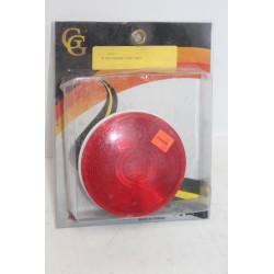 Feu rouge arrière adaptable diamètre 4''