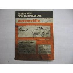 Revue technique pour FIAT ritmo D Vintage Garage