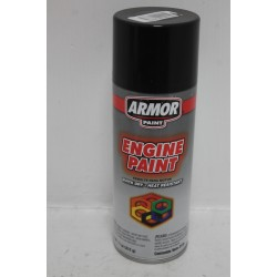 Bombe de peinture noir
