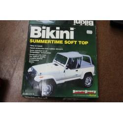 Capote de pour Jeep CJ7 et CJ8 de 1976 a 1986