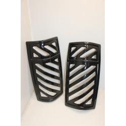 Déflecteurs de feux arrières noir pour Chevrolet pour GMC