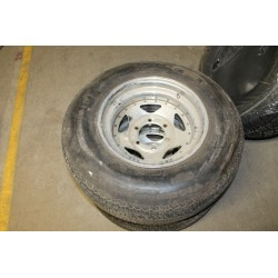 2 jantes et pneus 225/75 R15 102S Vintage Garage