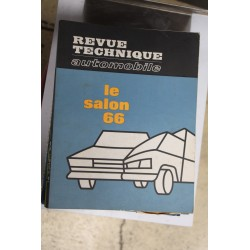 Revues techniques Salon 1966