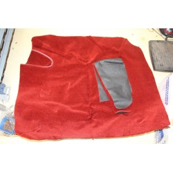 Moquette de coffre rouge pour MGA Vintage Garage