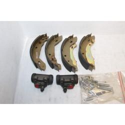 Kit de frein ar pour Renault montage Lucas diamètre 180x41mm Pistons diamètre 20,6mm