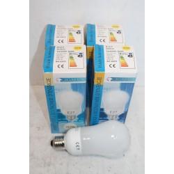 5 ampoules culot E27 lumière jaune 220-240 volts