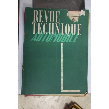 Revues techniques août 1948 pour Talbot