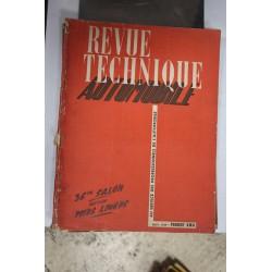 Revues techniques novembre 1949 Peugeot DMA