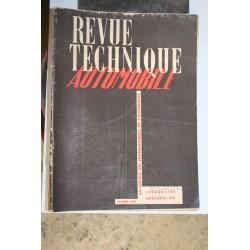 Revues techniques janvier 1950 Juvaquatre pour Mercedes OM