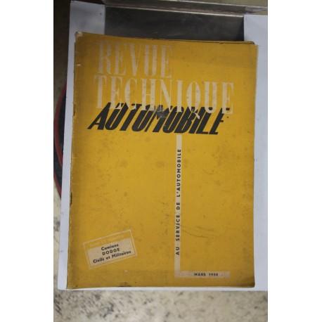 Revues techniques mars 1950 Camion pour Dodge Vintage Garage