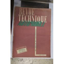 Revues techniques juin 1950 Chenard et Walcker type CPV12