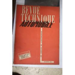 Revues techniques novembre 1950 Compte rendu salon Citroën «H» Morris Minor