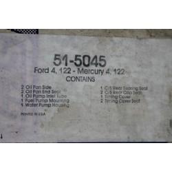 Pochette de joints de cache distribution pour Ford et pour Mercury 4 cylindres moteur 122