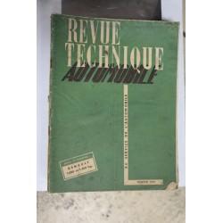 Revues techniques février 1951 Renault 1000kg et 1400 kg
