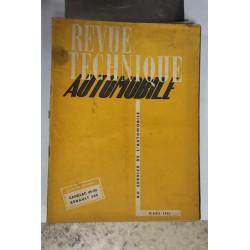 Revues techniques mars 1951 Cadillac 49-50 Renault 505