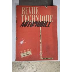 Revues techniques novembre 1951 pour Ford Cargo Vintage Garage