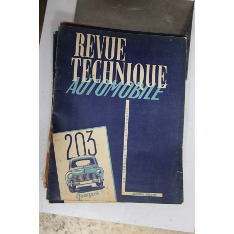 Revues techniques numéro Réédité pour Peugeot 203 Vintage