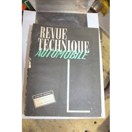 Revues techniques avril 1952 Berliet 5 cylindres et Salon Agricole