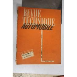 Revues techniques juillet 1952 Delahaye 148 L et boite pour Ford