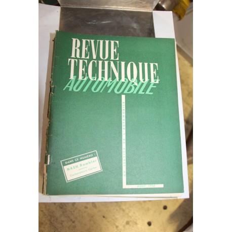 Revues techniques août 1952 Nash Rambler et Carburateur Carter