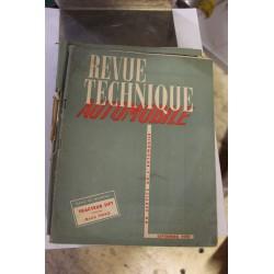 Revues techniques septembre 1952 Tracteur Sift et boite Ford